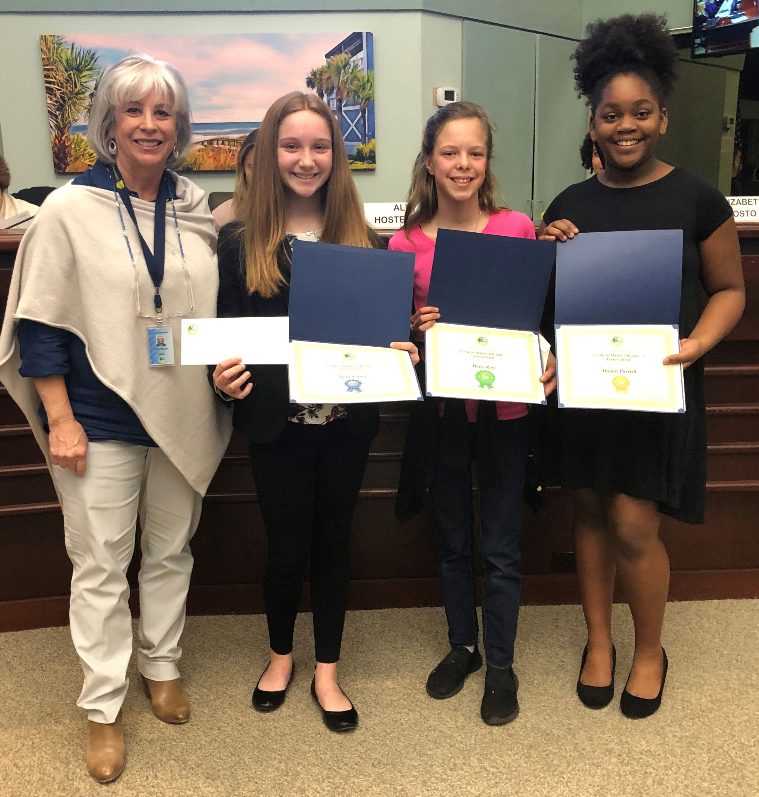 Photo of 2019 Atlantic Beach &#34If I Were Mayor, I Would ...&#34 essay contest winners